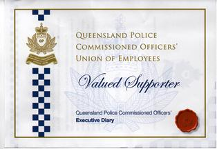 QLD Police Support Certificate Web